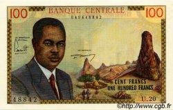 100 Francs type 1962 CAMEROUN  1962 P.10