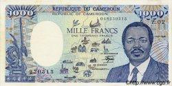 1000 Francs type 1984 modifié CAMEROUN  1986 P.26a SPL