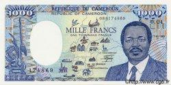 1000 Francs CAMEROUN  1988 P.26a NEUF