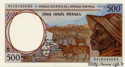 500 Francs type 1993 GABON  1994 P.401Lb NEUF
