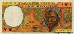 2000 Francs ÉTATS DE L