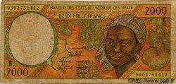 2000 Francs type 1993 CAMEROUN  1993 P.203Ea B