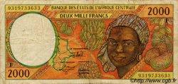 2000 Francs type 1993 ÉTATS DE L