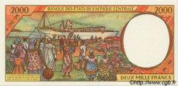 2000 Francs type 1993 TCHAD  1993 P.603Pa NEUF