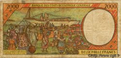 2000 Francs type 1993 RÉPUBLIQUE CENTRAFRICAINE  1994 P.303Fb pr.TB