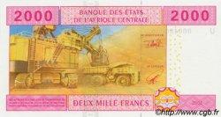 2000 Francs CAMEROUN  2002 P.208U NEUF