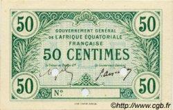 50 Centimes AFRIQUE ÉQUATORIALE FRANÇAISE  1917 P.01a pr.NEUF