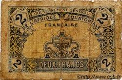 2 Francs AFRIQUE ÉQUATORIALE FRANÇAISE  1917 P.03 AB