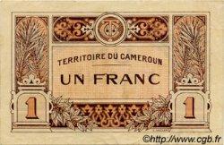 1 Franc CAMEROUN  1922 P.05 TTB+