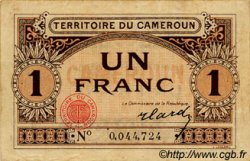 1 Franc CAMEROUN  1922 P.05 TTB