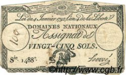 25 Sols FRANCE  1792 Laf.150 TB