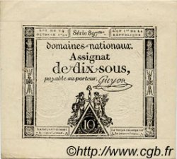 10 Sous FRANCE  1792 Laf.159 pr.NEUF
