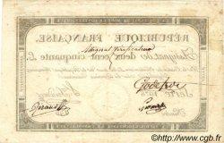 250 Livres VERIFICATEUR FRANCE  1793 Laf.170a TTB+
