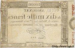 10000 Francs FRANCE  1795 Laf.177 TTB+