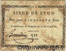 50 Sous FRANCE  1793 Laf.254 TTB