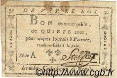 15 Sous FRANCE  1794 Laf.272 TB+