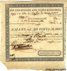 500 Francs FRANCE  1805 L.-- TTB