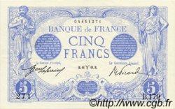 5 Francs BLEU FRANCE  1912 F.02.03 SUP+