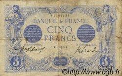 5 Francs BLEU FRANCE  1913 F.02.20 pr.TB