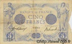 5 Francs BLEU FRANCE  1915 F.02.24 TB