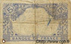 5 Francs BLEU FRANCE  1915 F.02.25 TB+