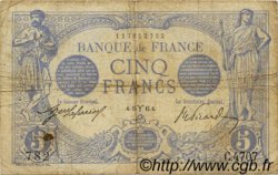 5 Francs BLEU FRANCE  1915 F.02.25 TB