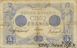 5 Francs BLEU FRANCE  1915 F.02.27 TB