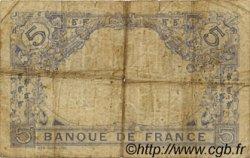 5 Francs BLEU FRANCE  1915 F.02.28 B