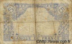 5 Francs BLEU FRANCE  1915 F.02.29 TB