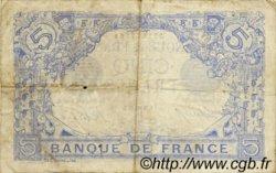 5 Francs BLEU FRANCE  1916 F.02.35 TTB