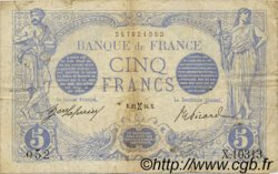 5 Francs BLEU FRANCE  1916 F.02.36 TB