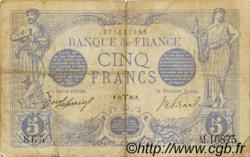 5 Francs BLEU FRANCE  1916 F.02.37 TB+