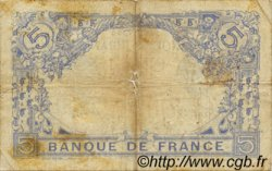 5 Francs BLEU FRANCE  1916 F.02.38 B+