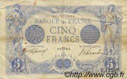 5 Francs BLEU FRANCE  1916 F.02.38 TTB