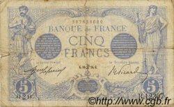 5 Francs BLEU FRANCE  1916 F.02.40 B+
