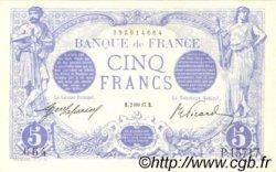5 Francs BLEU FRANCE  1917 F.02.47 SUP+ à SPL