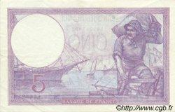 5 Francs VIOLET FRANCE  1923 F.03.07 SUP