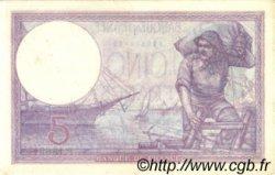 5 Francs VIOLET FRANCE  1923 F.03.07 pr.SUP