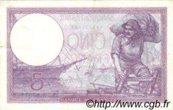 5 Francs VIOLET FRANCE  1924 F.03.08 TTB+ à SUP