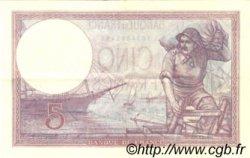 5 Francs VIOLET FRANCE  1930 F.03.14 SUP