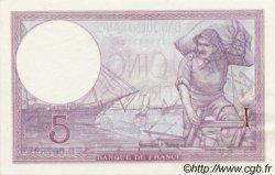 5 Francs VIOLET modifié FRANCE  1939 F.04 SUP