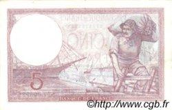 5 Francs VIOLET modifié FRANCE  1939 F.04.05 SPL