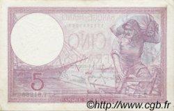5 Francs VIOLET modifié FRANCE  1939 F.04.06 SUP