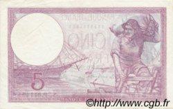 5 Francs VIOLET modifié FRANCE  1939 F.04.06 TTB à SUP