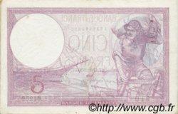 5 Francs VIOLET modifié FRANCE  1939 F.04.06 TTB+ à SUP
