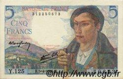 5 Francs BERGER FRANCE  1945 F.05.06 NEUF