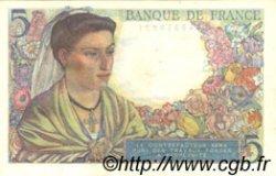 5 Francs BERGER FRANCE  1945 F.05.06 SPL