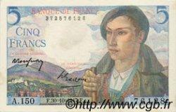 5 Francs BERGER FRANCE  1947 F.05.07 SUP+