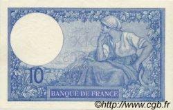 10 Francs MINERVE FRANCE  1916 F.06.01 SPL+