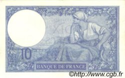 10 Francs MINERVE FRANCE  1916 F.06.01 SUP+